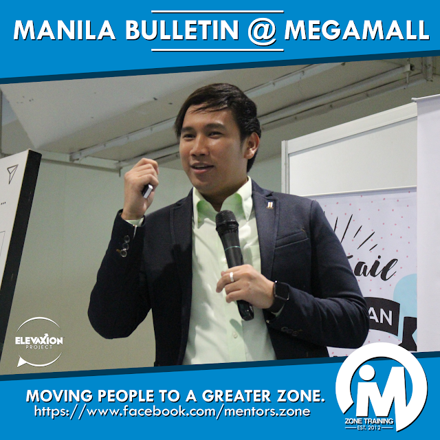TALK: Manila Bulletin (Megamall) - Leadership Speaker