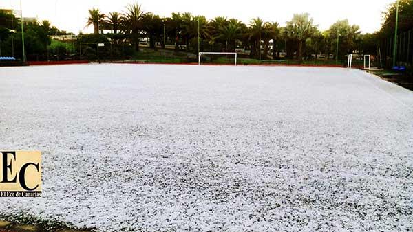 Algunos centros suspenden  las clases en Gran Canaria, viernes 2 febrero