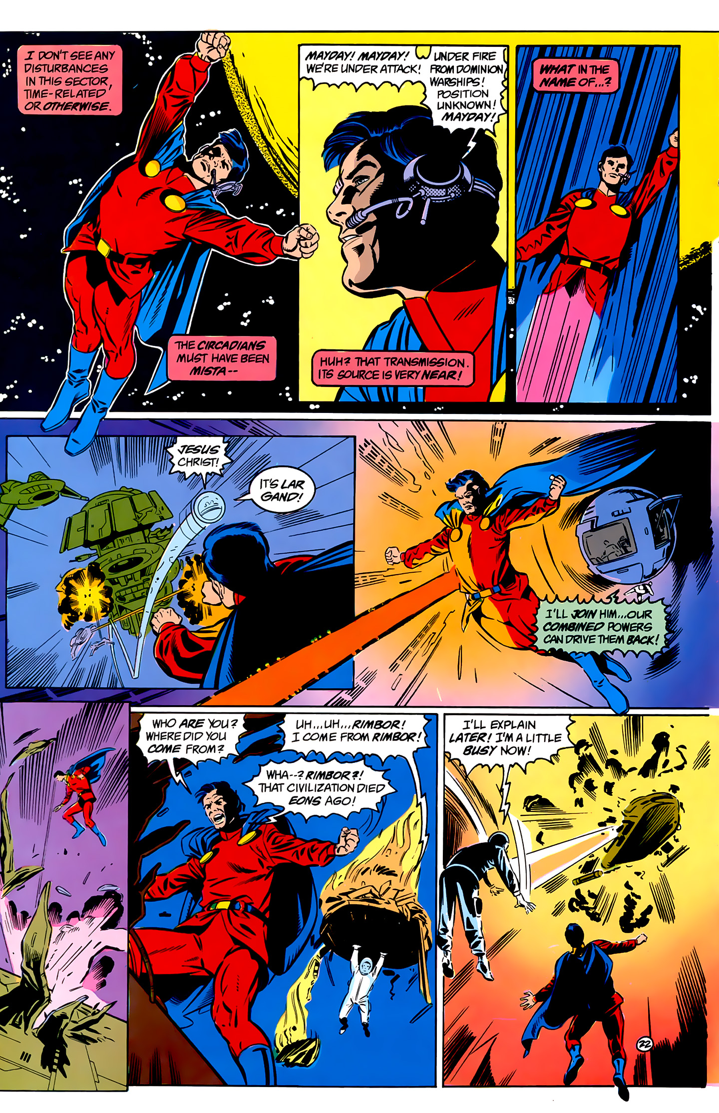 Legion of Super-Heroes (1989) _Annual_1 Page 22