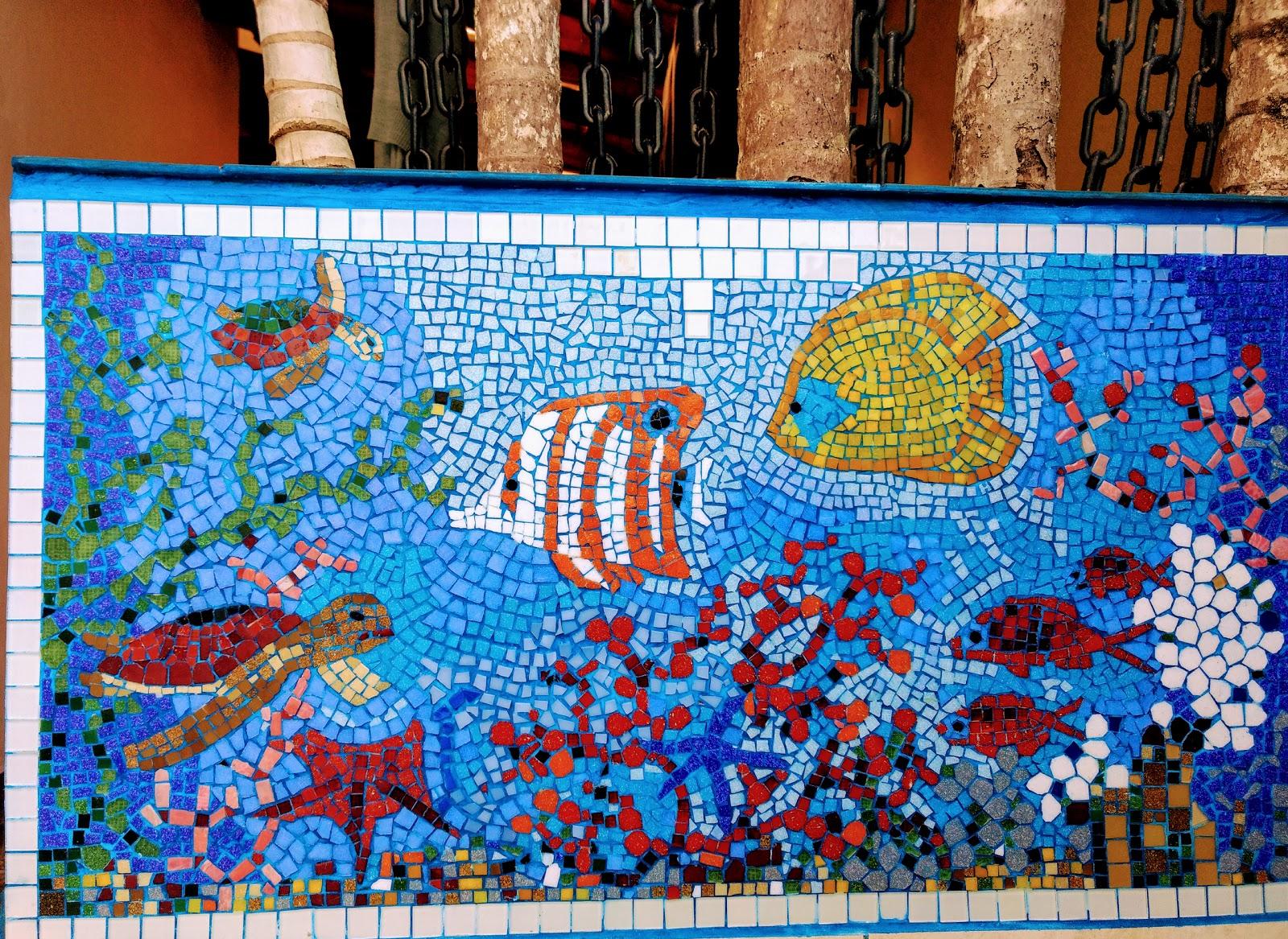 Meu quadrado como fazer mosaico passo a passo for Mosaico ceramica