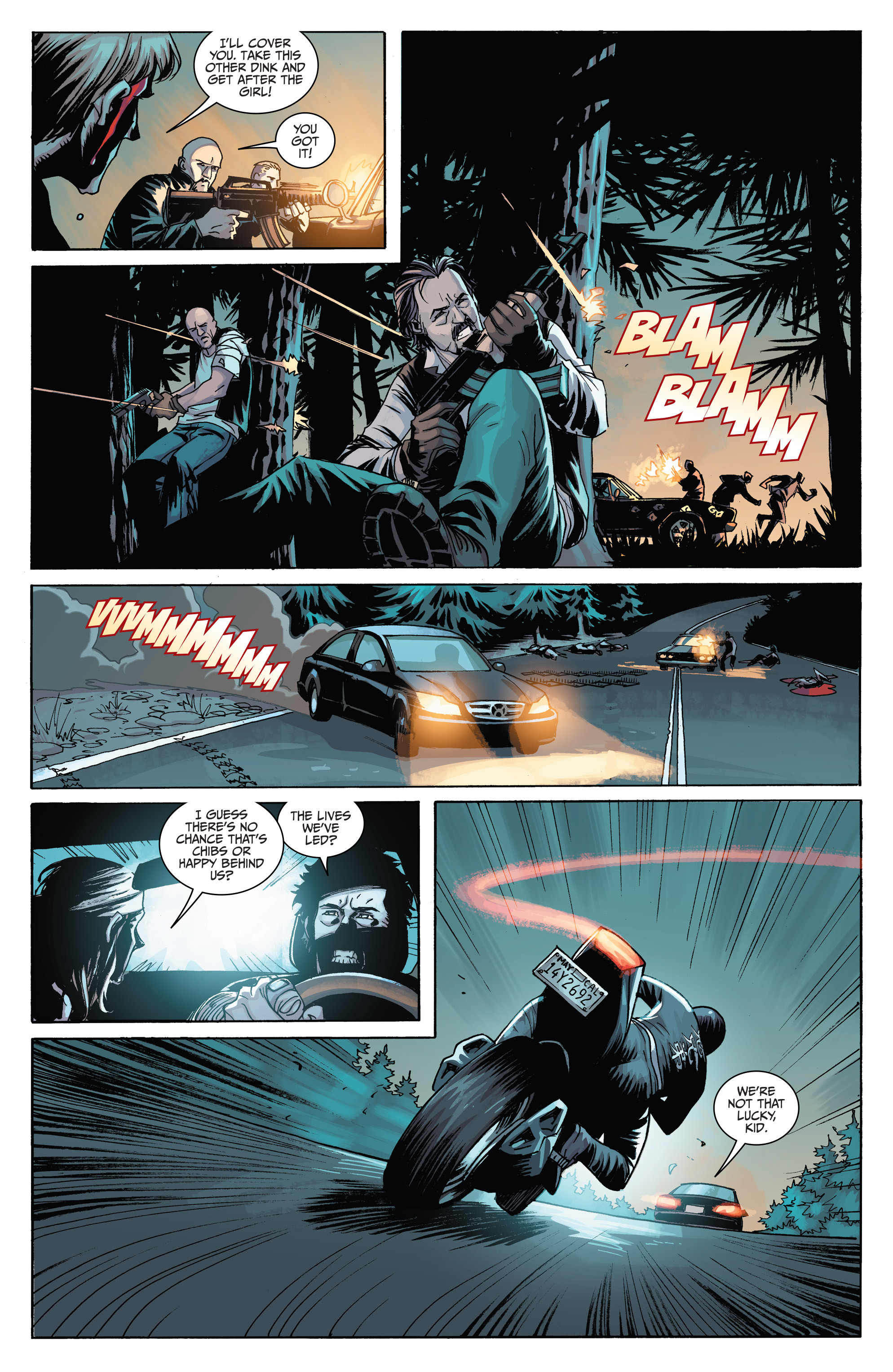 Read online Sons of Anarchy comic -  Issue #6 - 14