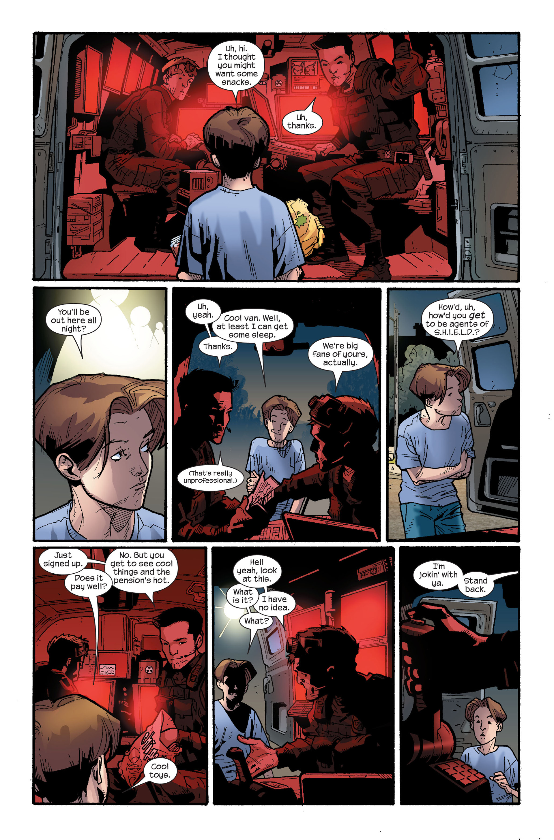Read online Ultimate Spider-Man (2000) comic -  Issue #116 - 12