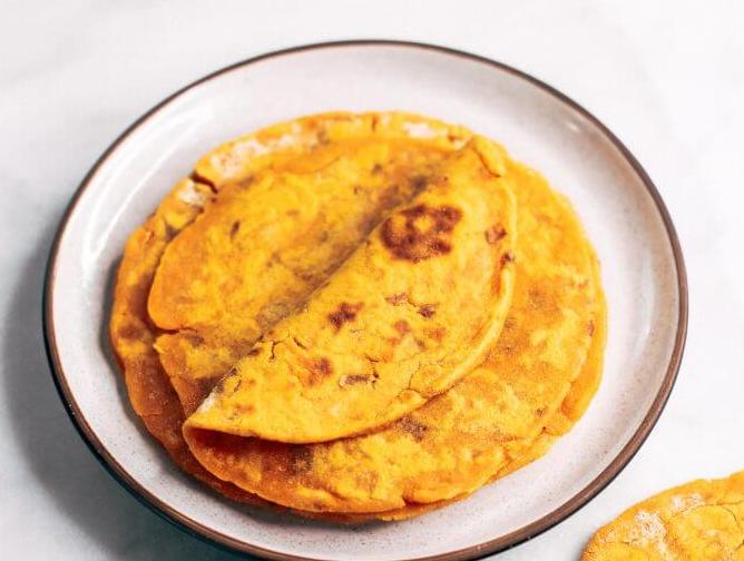 Two Ingredient Sweet Potato Tortillas #diet #potato