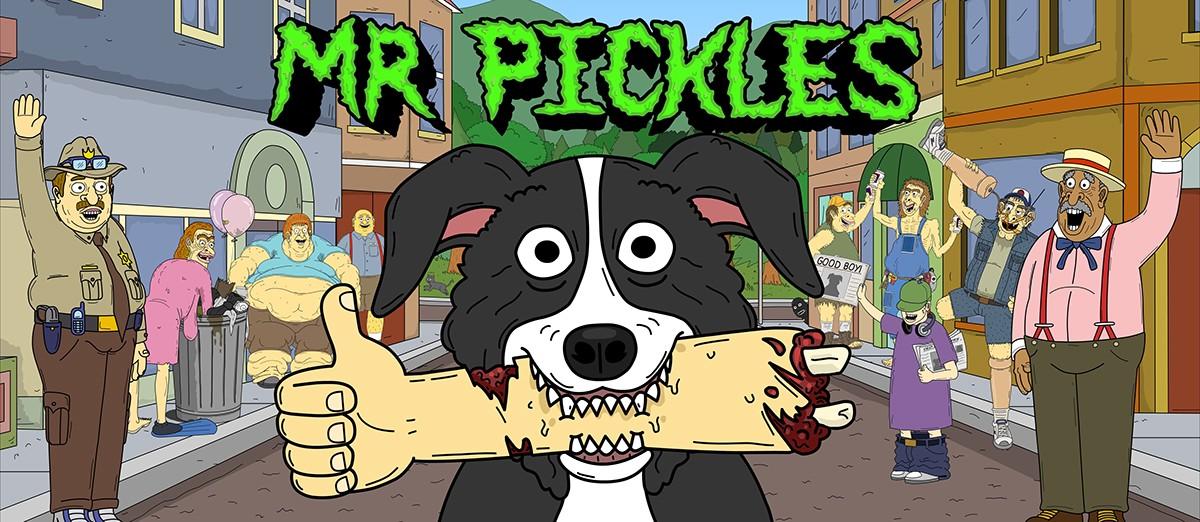 Mr. Pickles Serie Completa Latino por Mega