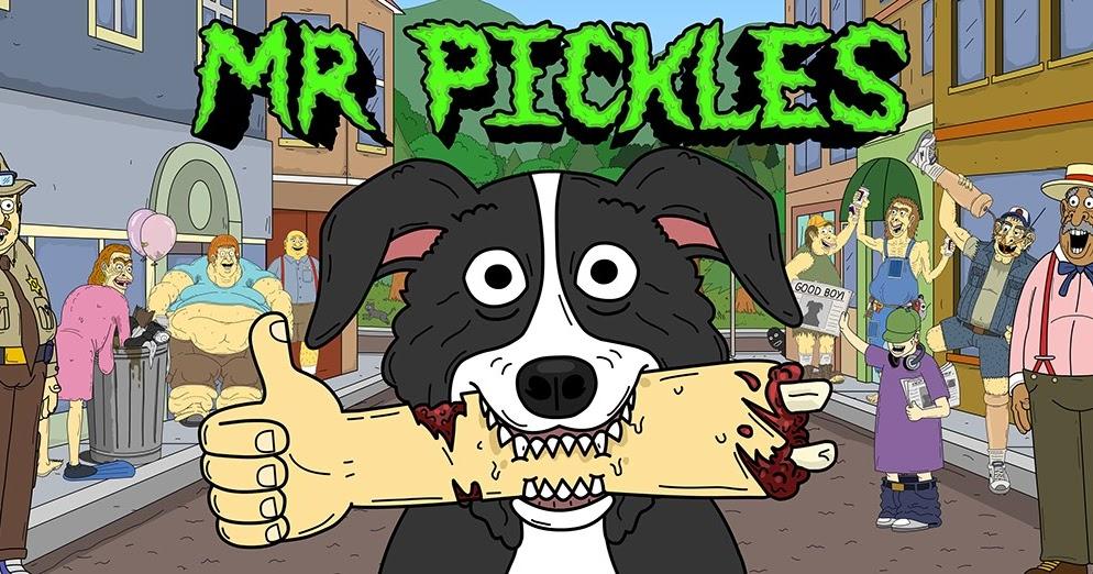 """RESEÑAS CINEFILAS: """"Mr. Pickles"""" de Will Carsola y Dave Stewart (2014- A la  Fecha)"""