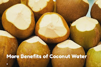 More Benefits of Coconut Water.