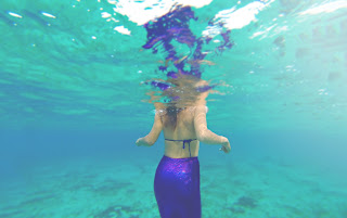 mermaid, cozumel, sirena, relax, stress release