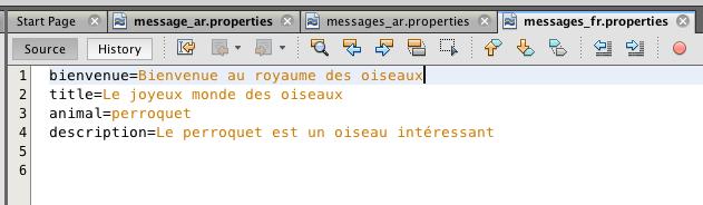 Création Fichier de propriétés, step 5
