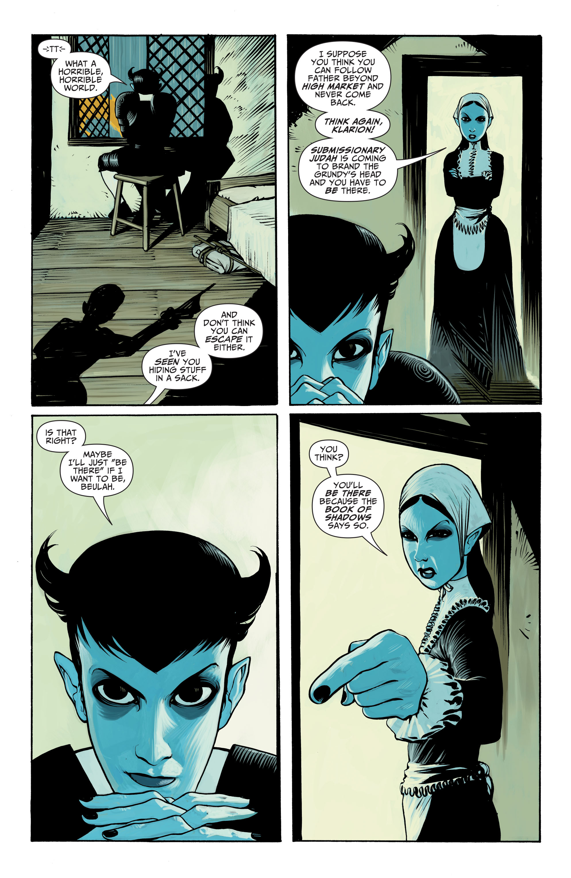 Read online Seven Soldiers: Klarion the Witch Boy comic -  Issue #1 - 4