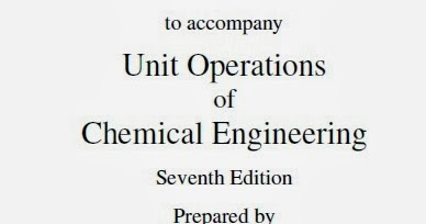 Unit Operations Of Chemical Engineering Ebook