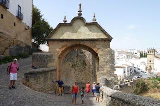 Puerta o Arco de Felipe V de Ronda.