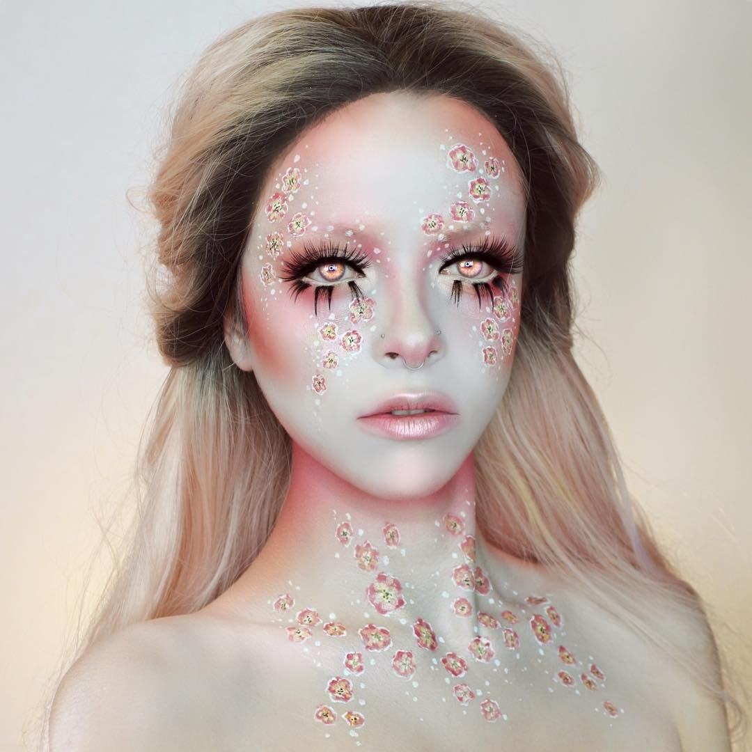 03-Blossoms-Kimberley-Margarita-Makeup-Effects-that-Transform-the-Artist-www-designstack-co