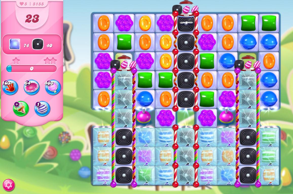 Candy Crush Saga level 5155