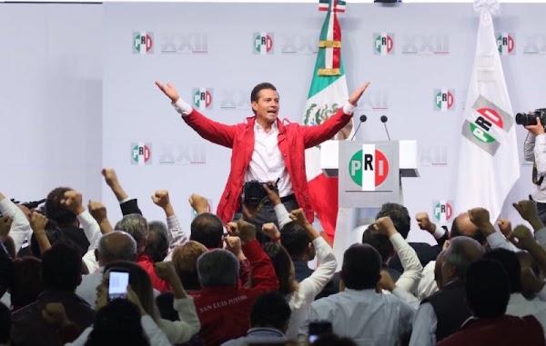 """EPN llama a priistas a llegar al 2018 como """"soldados de la Patria""""; """"México gana cuando gana el PRI"""""""