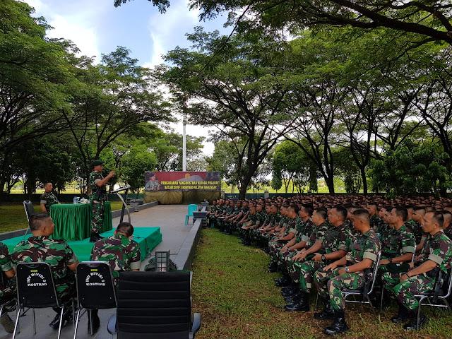 Di Kariango, 1.170 Prajurit Jajaran Divisi 3 Kostrad Terima Pengarahan Pangkostrad