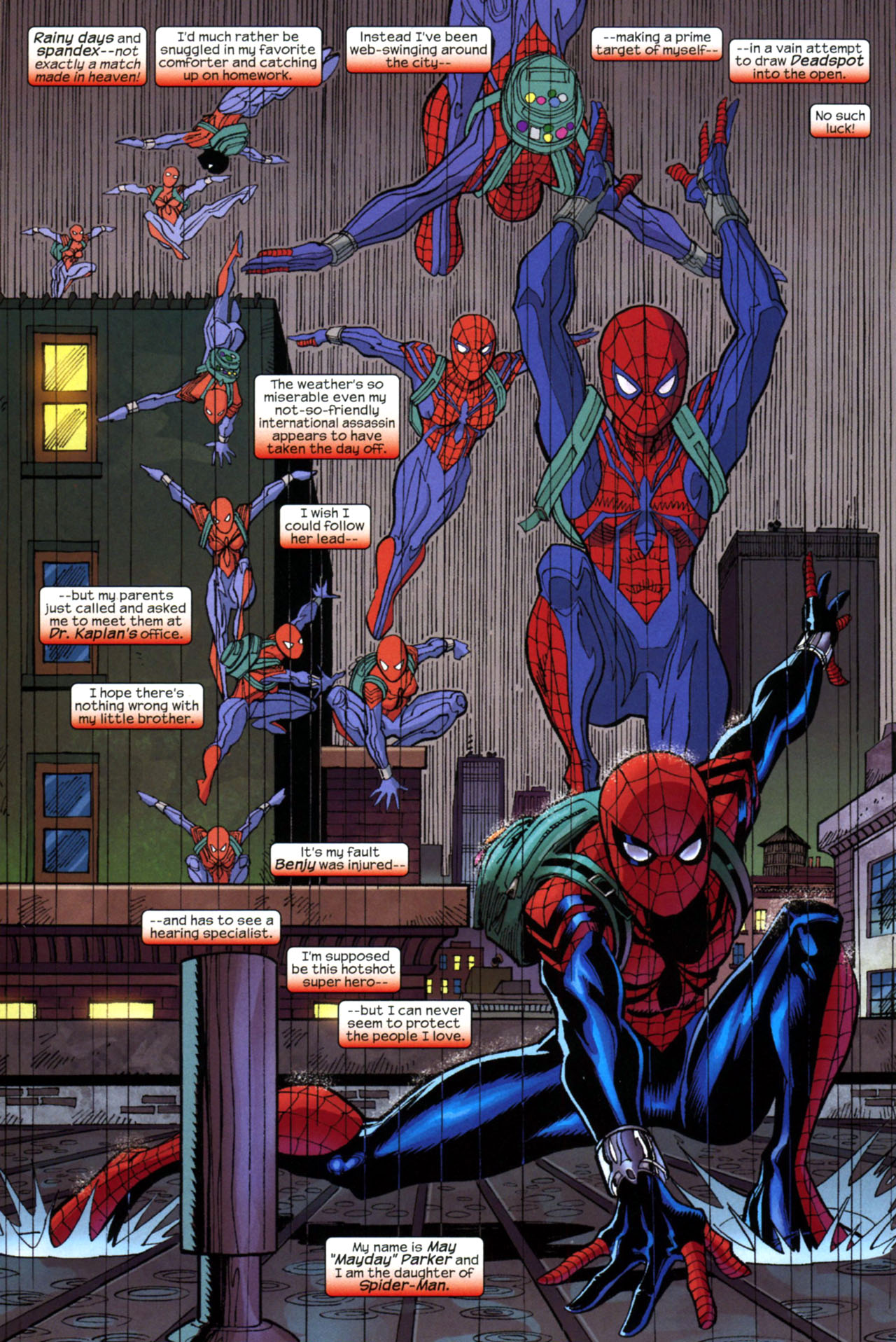 Read online Amazing Spider-Girl comic -  Issue #17 - 3