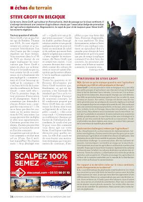 Magazine TCS Techniques Culturales Simplifiées