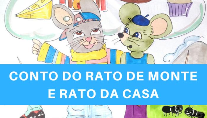 Cuento infantil gallego - video ilustrado : O rato de monte