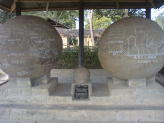 The village is called Vidima village of Dimapur, Nagaland and has these amazing round stones but who made them.