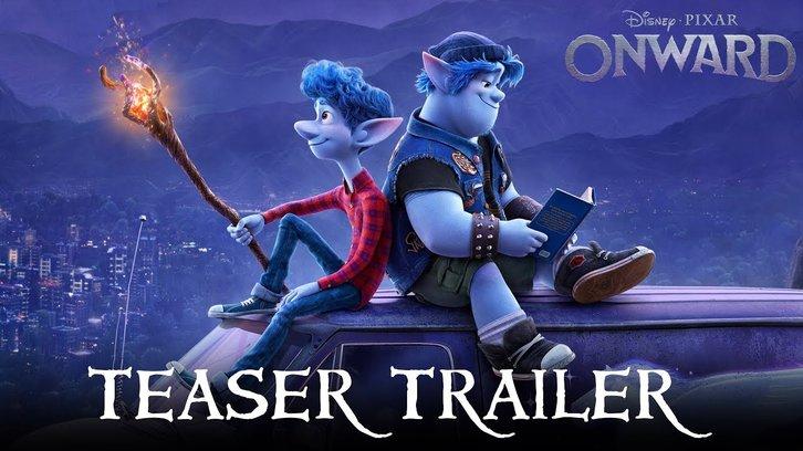 MOVIES: Onward - Teaser Trailer + Poster feat Chris Pratt & Tom Holland