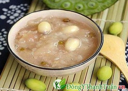 Món ăn chữa bệnh đau dạ dày - Cháo hạt sen