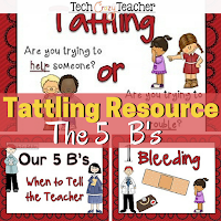 a classroom management system to stop tatlling