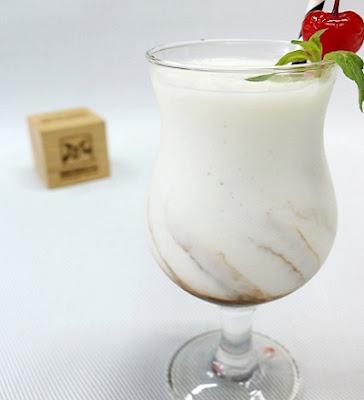 hình ảnh sinh tố dừa cà phê