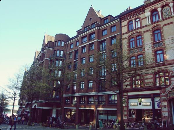Edificios color café