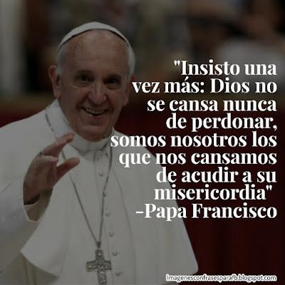 Las 10 Frases más lindas del Papa Francisco