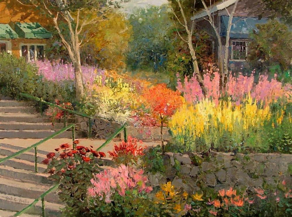 Im genes arte pinturas fant sticos paisajes de vistas - Cuadros de casas de campo ...