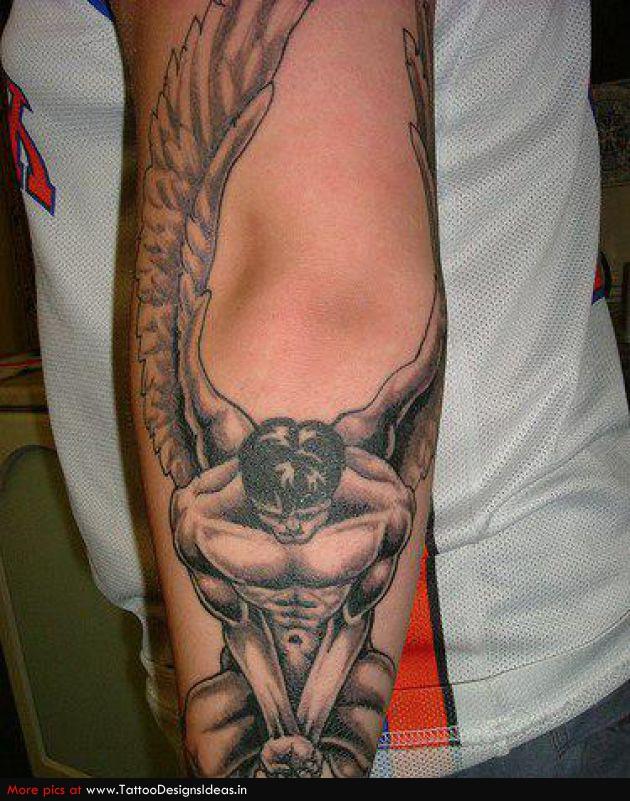 Fallen Angel Tattoos   Popular Tattoo Designs