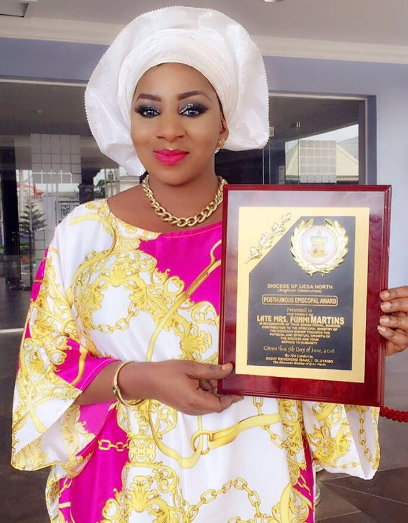 mide martins awards late mother