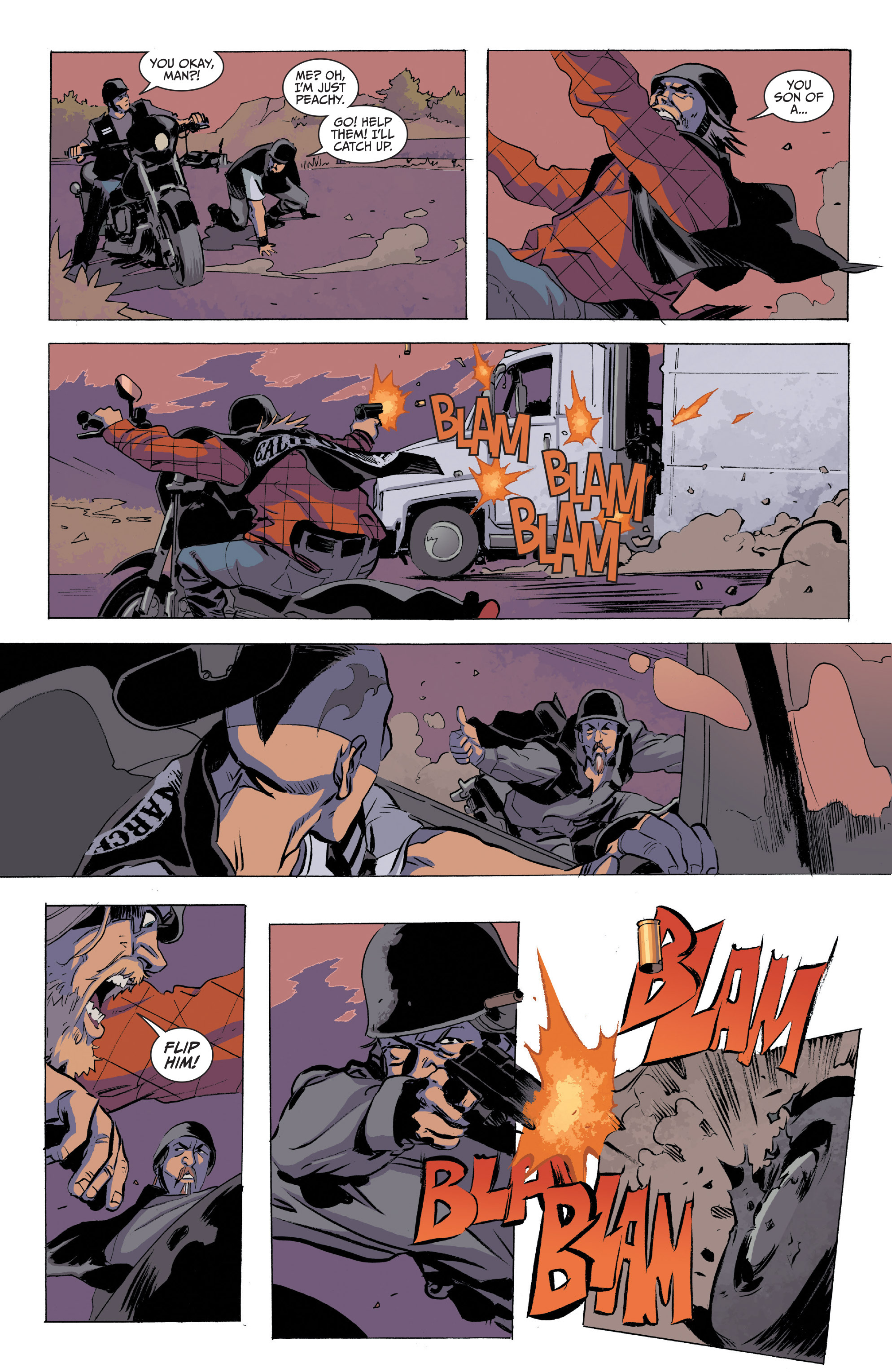 Read online Sons of Anarchy comic -  Issue #20 - 15