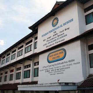 SMA AL MA'SOEM SMA Unggulan di Bandung Terbaik