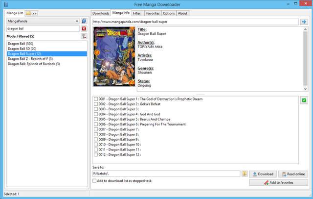 Programa para Descargar Manga (FMD) 0.9.111.0 Full