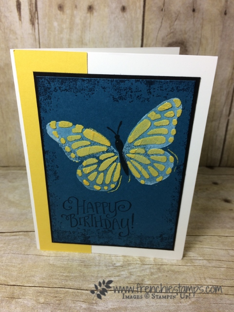 butterflies thinlits, embossing paste, Stampin'Up!