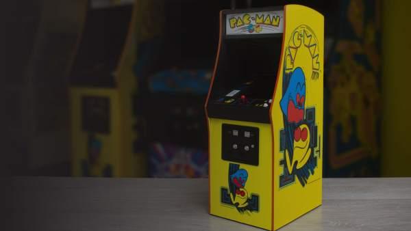 La edición del 'arcade' de 'Pac-Man' mide 43 centímetros