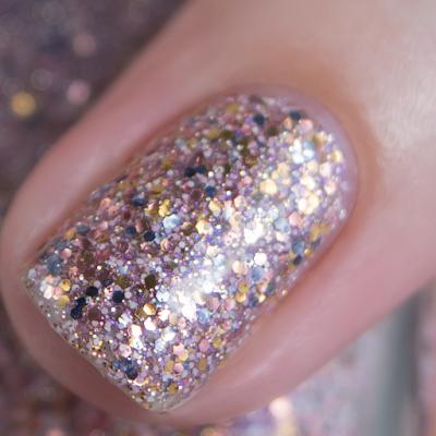 Mckfresh Nail Attire - Rose Courts Amber | Sparkle Sparkle 2.0