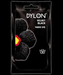 Dylon black fabric dye