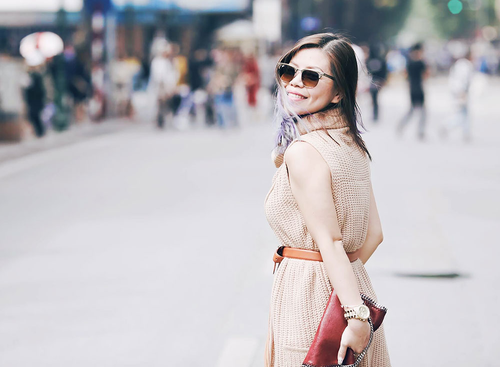 Vietnam International Fashion Week 2016- Day 5 streetstyle- Crystal Phuong