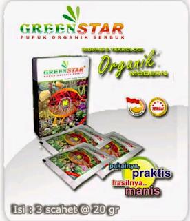 green star pupuk organik serbuk