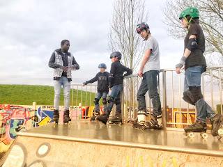cours roller inline street skatepark association diako diaky agressive evry lisses