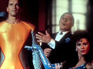 Arnold Schwarzenegger Richard Dawson The Running Man 1987