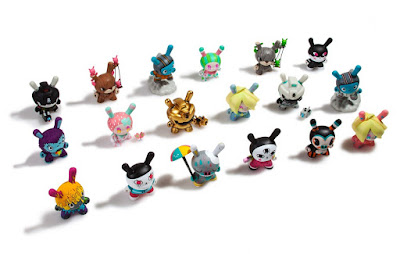 "Designer Toy Awards Dunny 3"" Mini Figure Blind Box Series by Kidrobot x Clutter"