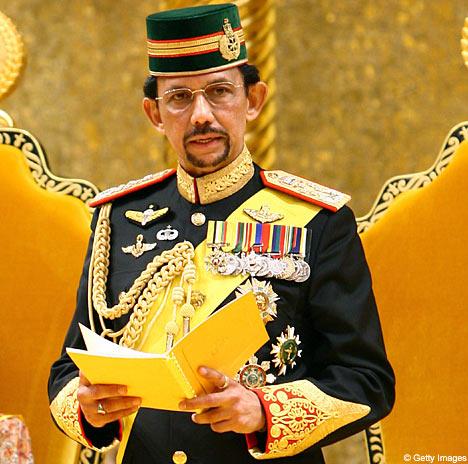 Sultan Brunei yang hebat
