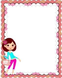 Carátula genérica para cuaderno o carpeta femenina
