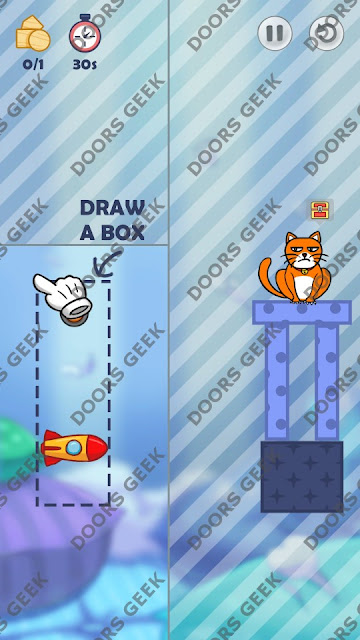 Hello Cats Level 52 Solution, Cheats, Walkthrough 3 Stars for Android and iOS