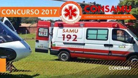 Apostila CONSAMU PR 2017