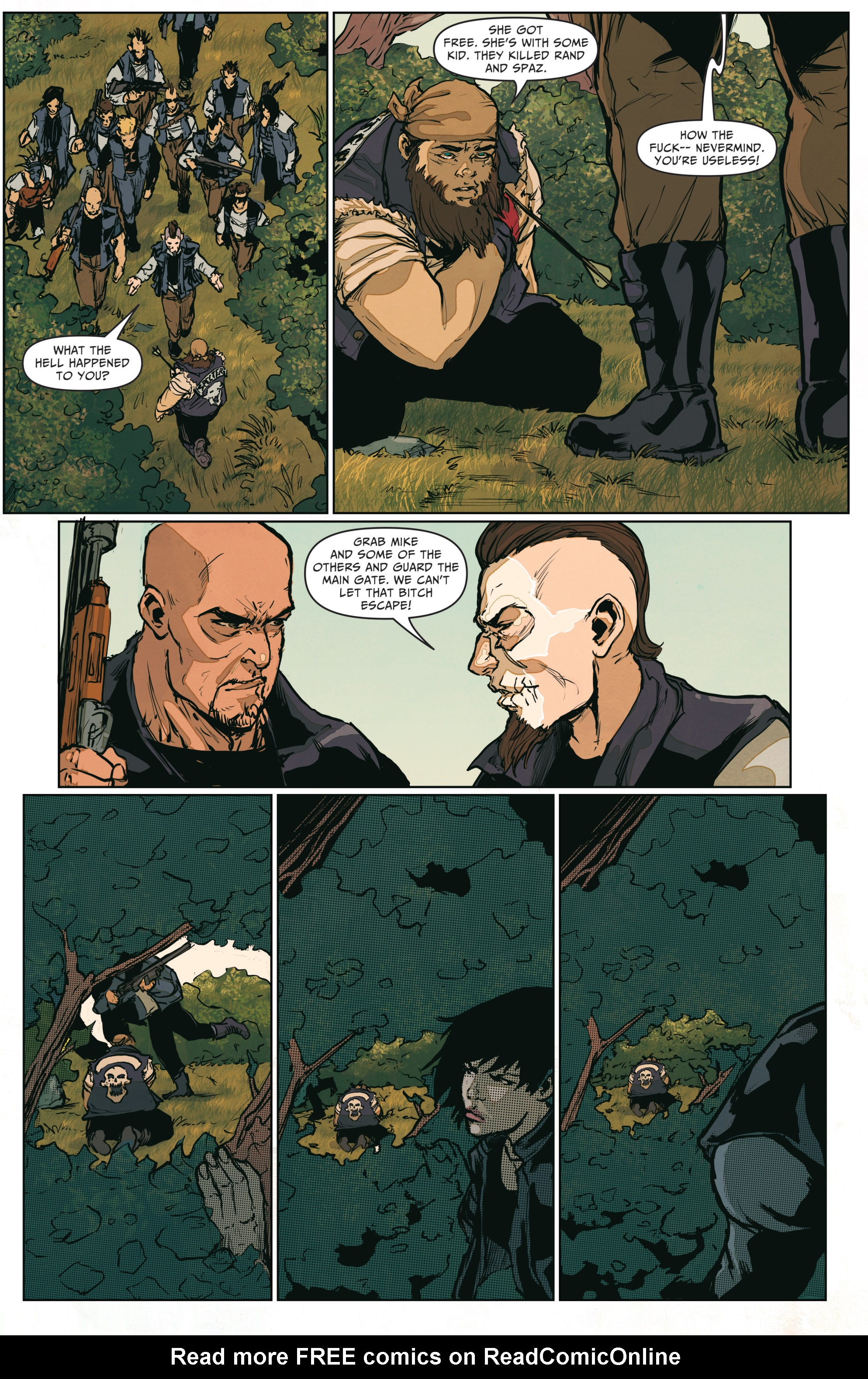 Read online The Courier: From the Ashes comic -  Issue #3 - 12