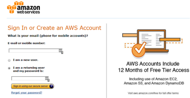 AWS Registration